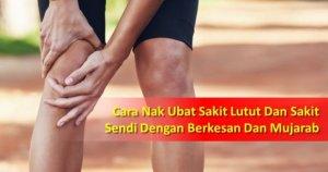 Ubat Sakit Lutut Dan Sendi Berasaskan Kolagen Type 2