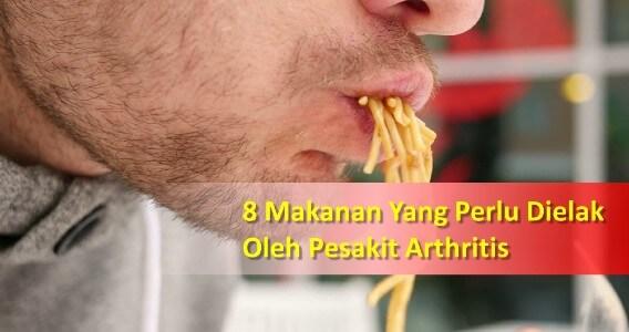 makanan untuk pesakit arthritis